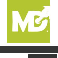 MD הפקות Retina Logo